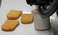 gripper for stacking french toast